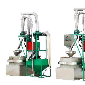 厂家直销定做面粉电动石磨 砂岩青石全自动石磨面粉机
