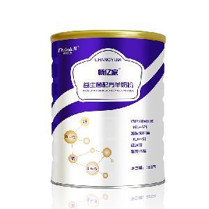 畅亿家益生菌配方羊奶粉300克厂家原价招商加盟