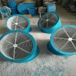 潤飛廠家批發玻璃鋼軸流風機防雨罩 耐腐蝕外墻45度出風彎頭