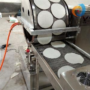 商用全自动春卷皮机、榴莲千层饼皮机、烤鸭饼机 高产量