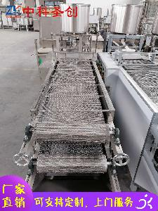 九龙坡区仿手工豆腐皮机 全自动豆腐皮机 做豆腐皮机器
