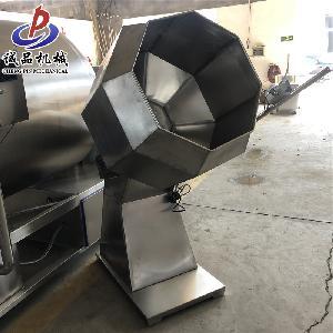 滾筒式全自動拌料機 家用拌料桶 調料拌料機 不銹鋼八角拌料機