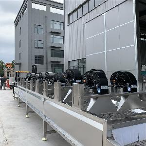 多功能蔬菜清洗风干机 翻转式风干设备