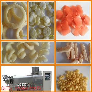 夹心米果生产线沙拉锅巴加工机械玉米片生产线源头厂家供应